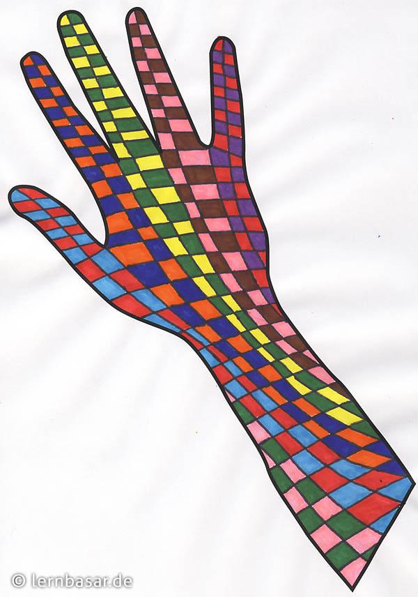 Arbeitsblatt Kunst Klasse 1 : Tolle bunte hände zum verschönern des klassenzimmers ein