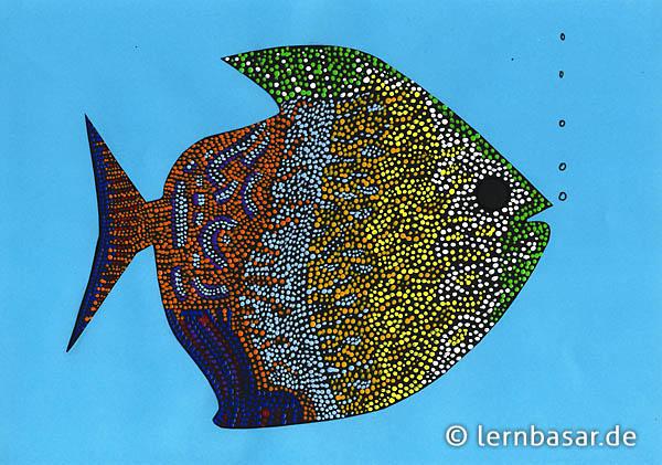 Neulich Im Korallenriff Mit Der Bereits Bewährten Dot Painting