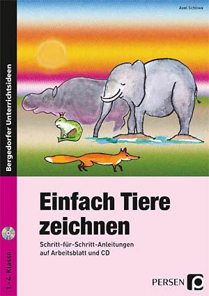 Einfach Tiere zeichnen - Buchbesprechung - Startpunkt DE