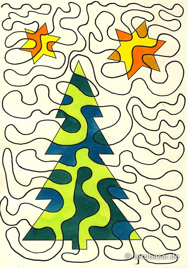 Die Mega-Linie - Weihnachtsbaum - Startpunkt DE