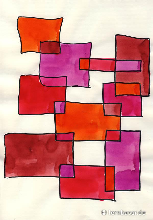 Geometrische Formen, Ton in Ton - neue Idee fu00fcr Ihren Kunstunterricht - Startpunkt DE