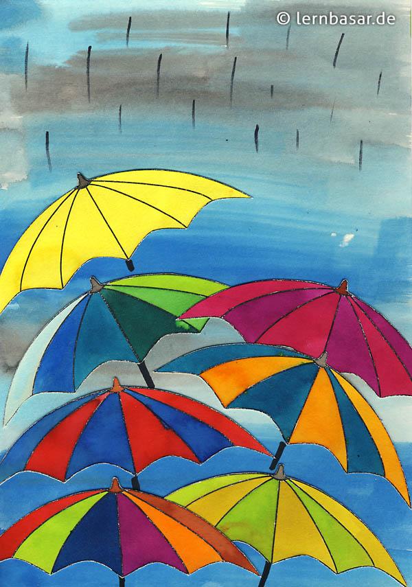 Schmuddelwetter Farbenfrohe Regenschirmparade Startpunkt De