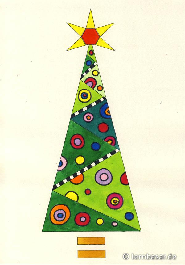 Popart-Weihnachtsbaum - Startpunkt DE