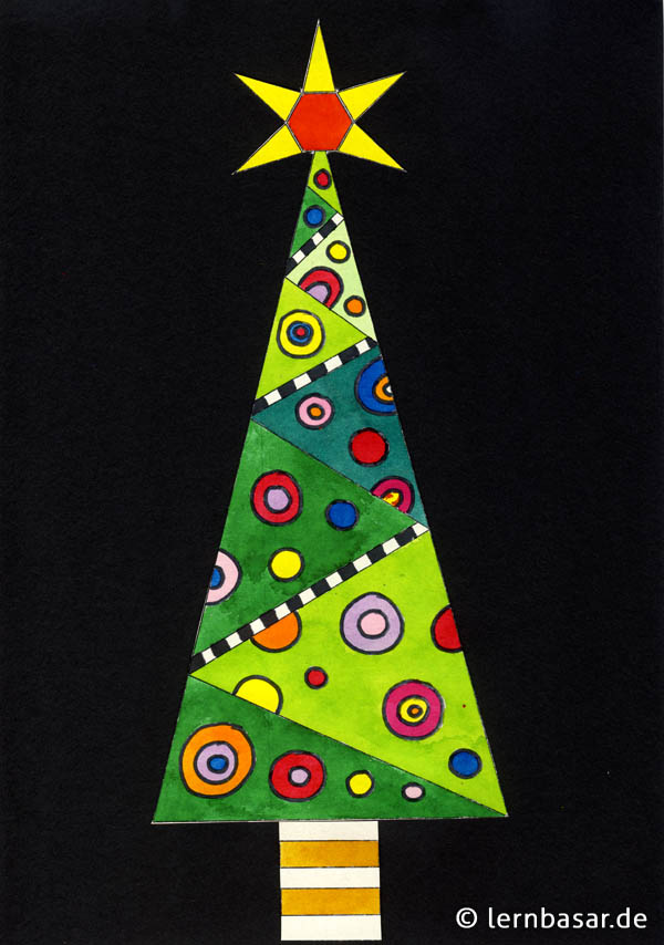 Pop-Art Christbaum