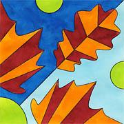 Blätter Mosaik