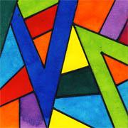 Farbstreifen-Inchie