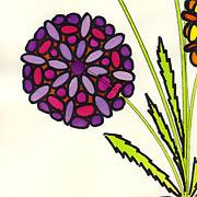 Frühling mit Blumen