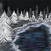 Kalte Winternacht
