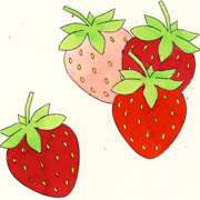 Leckere Erdbeeren
