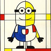 Minions a la Mondrian
