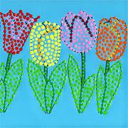 Tulpen Dotpainting
